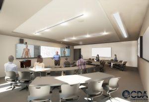 Classroom Auditorium New Render